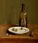 Plate with olives. size 40x45 cm